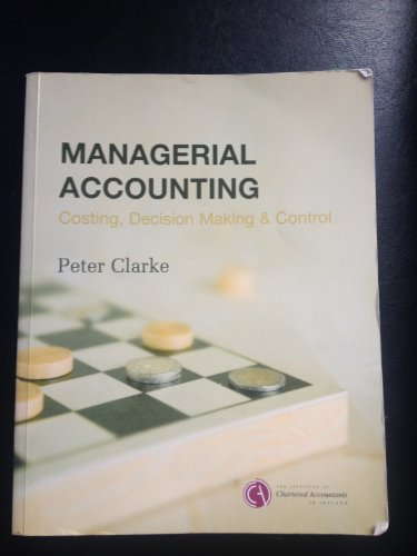 9780903854436: Managerial Accounting