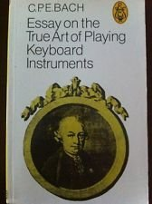 9780903873017: Essay on the True Art of Playing Keyboard Instruments