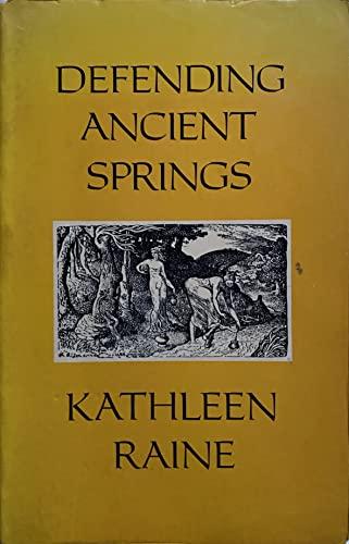 9780903880329: Defending Ancient Springs