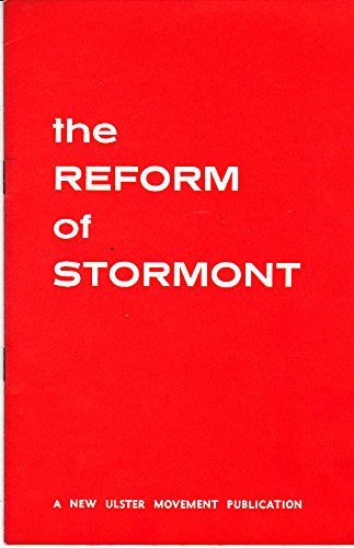9780903882019: The reform of Stormont