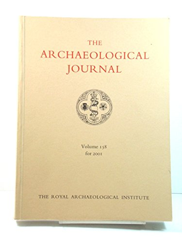 The Archaeological Journal, Volume 158, for 2001