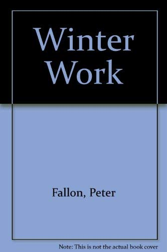 9780904011357: Winter Work (Gallery books)