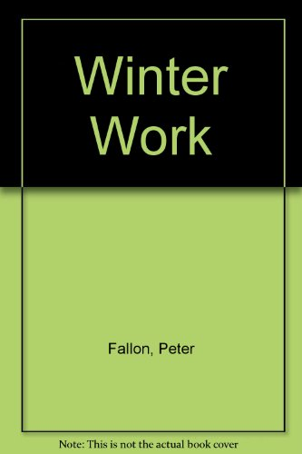 9780904011364: Winter Work