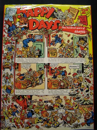 HAPPY DAYS ONE HUNDRED YEARS OF COMICS (9780904041330) by Gifford, Denis