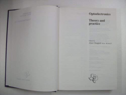 9780904047196: Optoelectronics: Theory and Practice
