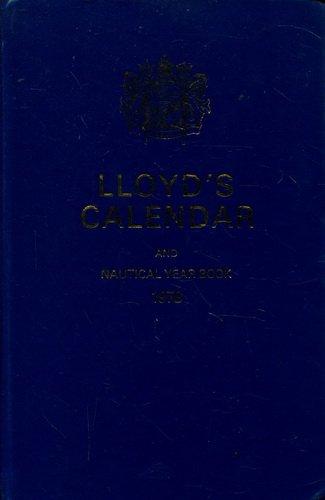 Lloyd's Calendar and Nautical Year Book, 1978