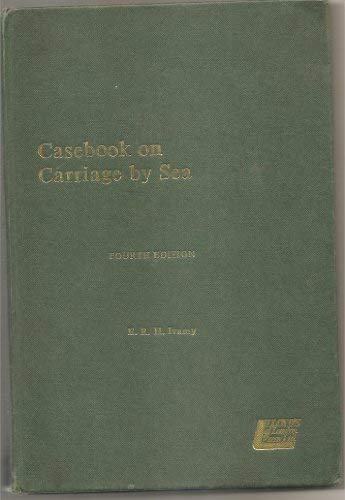 Casebook on carriage by sea