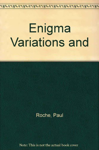 Enigma Variations And.: Paul Roche. Dust jacket by Duncan Grant.