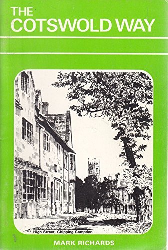 9780904110937: The Cotswold Way: A Walker's Guide