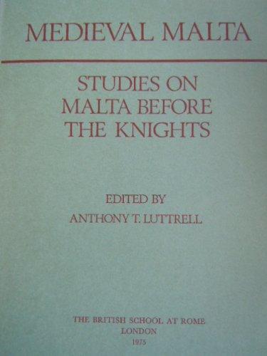 9780904152029: Medieval Malta: Studies on Malta before the Knights