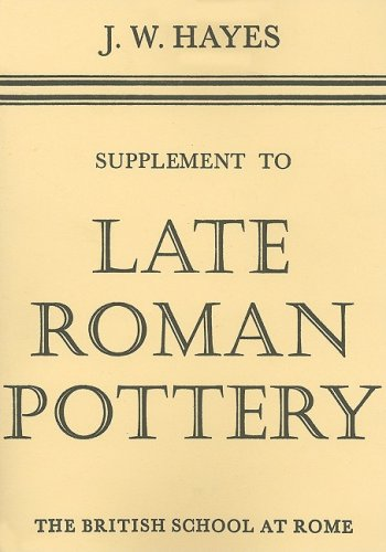 9780904152104: A Supplement to Late Roman Pottery