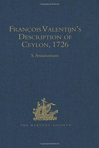 Francois Valentijn's Description of Ceylon; English attempts: Valentijn, Francois ;