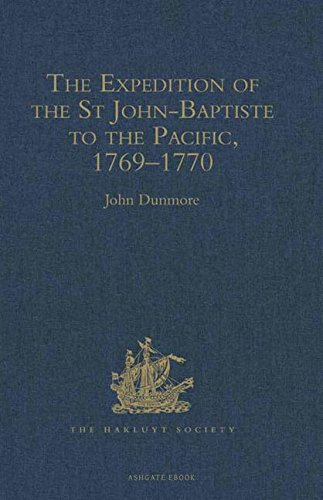 9780904180114: The Expedition of the St John-Baptiste to the Pacific, 1769–1770 (Hakluyt Society, Second Series)