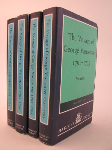 9780904180169: The Voyage of Discovery to the North Pacific Ocean and Round the World, 1791-95: Vols 1-4