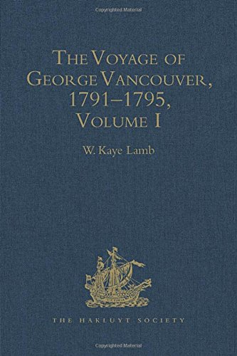 9780904180176: A Voyage of Discovery to the North Pacific Ocean and Round the World, 1791-1795 (4 Volumes)