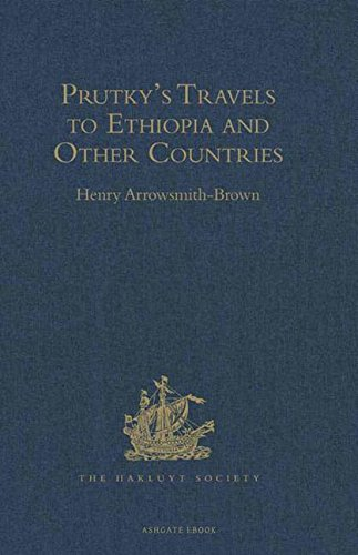 9780904180305: Prutky's Travels to Ethiopia and Other Countries (Hakluyt Society, Second Series)