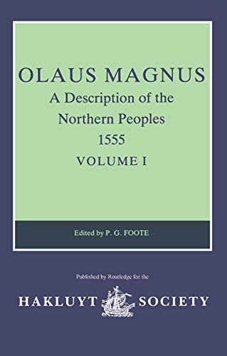 Olaus Magnus. A Description of the Northern: Foote, P.G. (ed.)