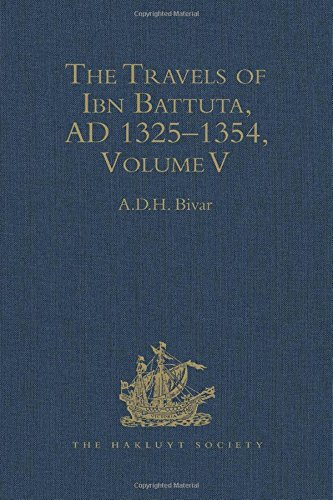 9780904180671: The Travels of Ibn Battuta. A.D. 1325-1354. Index. Volume V. (Hakluyt Society, Second Series, 190)