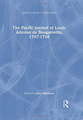 9780904180787: The Pacific Journal of Louis-Antoine de Bougainville, 1767-1768 (Hakluyt Society, Third Series)