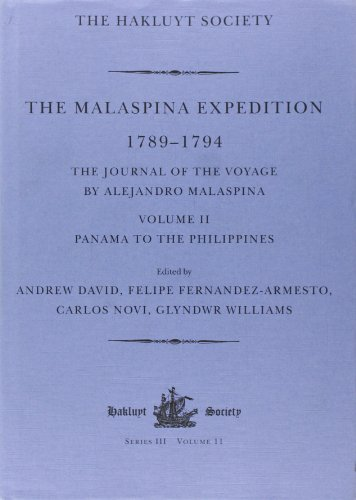 The Malaspina Expedition 1789-1794: The Journal of