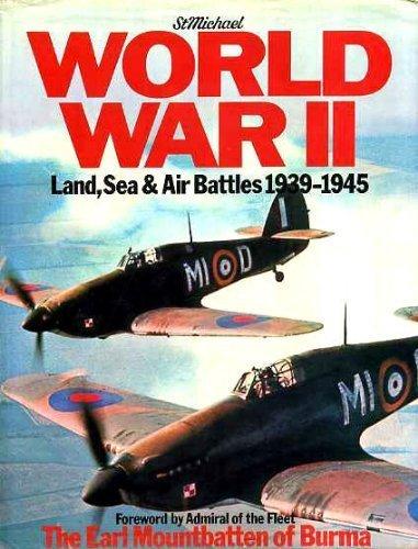 WORLD WAR II: LAND, SEA , AIR BATTLES 1939-1945: Christopher Chant