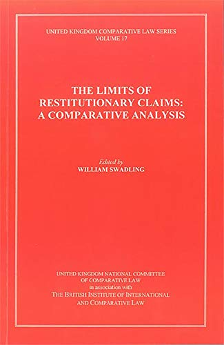 9780904281125: The Limits of Restitutionary Claims: a Comparative Analysis: A Comparative Analysis: 17