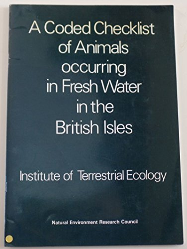Coded Checklist of Animals Occurring in Fresh: Maitland, Peter S.