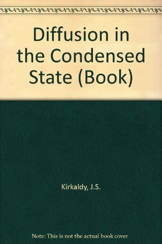 9780904357875: Diffusion in the Condensed State