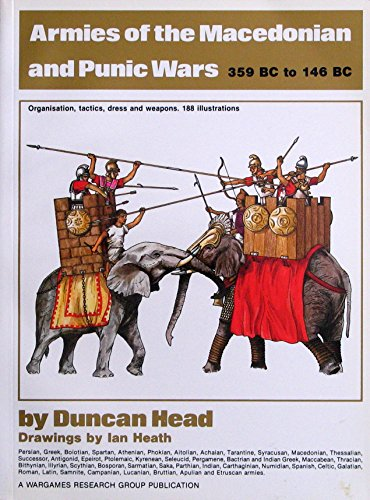 9780904417258: Armies of the Macedonian and Punic Wars