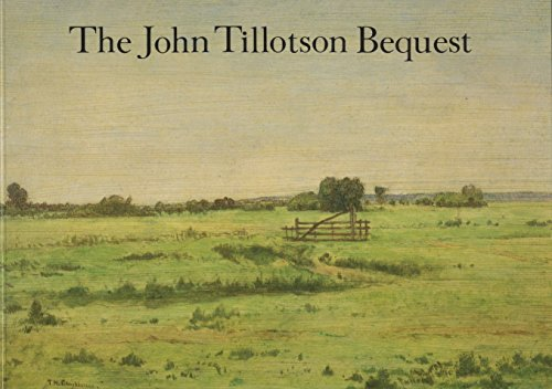 9780904454208: The John Tillotson bequest: Paintings and drawings of the Barbizon school, Fitzwilliam Museum, Cambridge