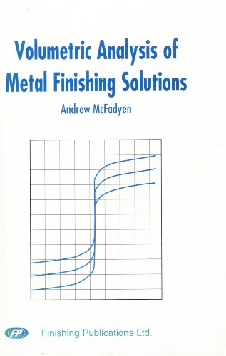 9780904477177: Volumetric Analysis of Metal Finishing Solutions