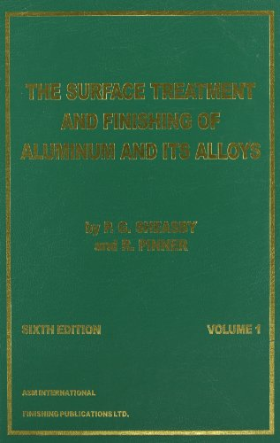The Surface Treatment and Finishing of Aluminium: P. G. Sheasby;