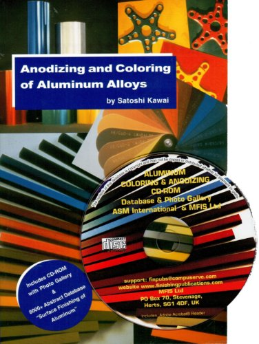 9780904477245: Anodizing and Coloring of Aluminum Alloys