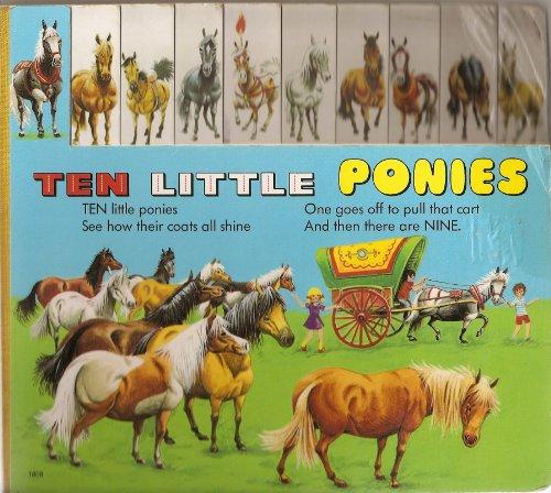 Ten Little Ponies Board Book
