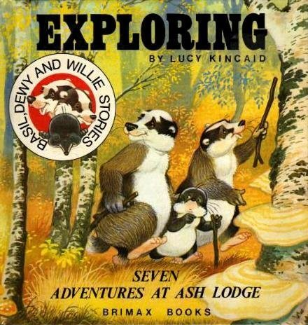 9780904494747: Exploring at Ash Lodge (Basil, Dewy and Willie stories)