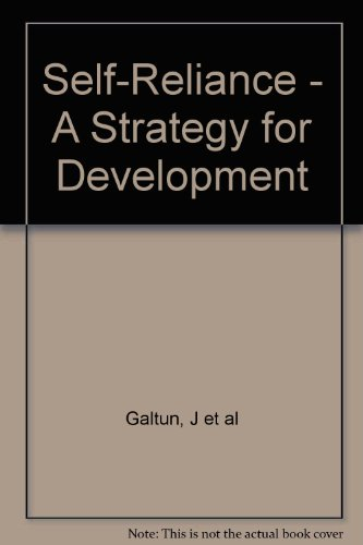 9780904521207: Self Reliance - A Strategy for Development