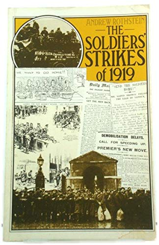 9780904526776: The Soldiers' Strikes of 1919