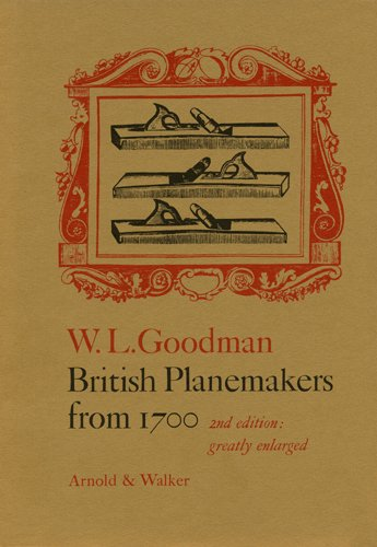 British Planemakers from 1700: William Louis Goodman