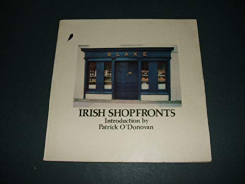 9780904651683: Irish Shopfronts