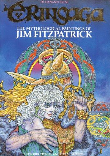 Erinsaga : the mythological paintings of Jim Fitzpatrick: Fitzpatrick, Jim ; Vincent, Pat (editor):