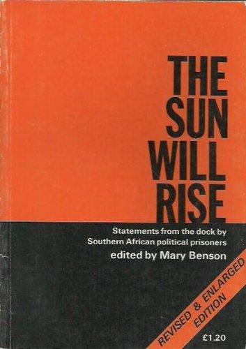 9780904759433: Sun Will Rise
