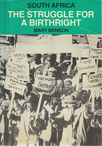 9780904759686: South Africa: The Struggle for a Birthright