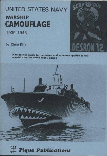 9780904811001: United States Navy Warship Camouflage, 1939-45