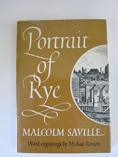 9780904822052: Portrait of Rye