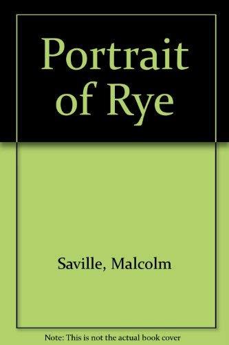 9780904822069: Portrait of Rye