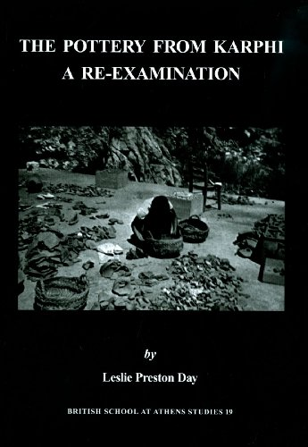 9780904887631: The Pottery from Karphi: a re-examination (BSA Studies)