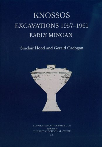 9780904887648: Knossos Excavations 1957-61: Early Minoan (BSA Supplementary Volume)