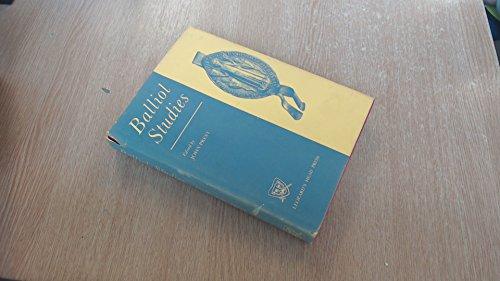 Balliol Studies.: PREST, J., (ed.),