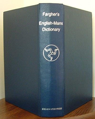 9780904980233: English-Manx Dictionary