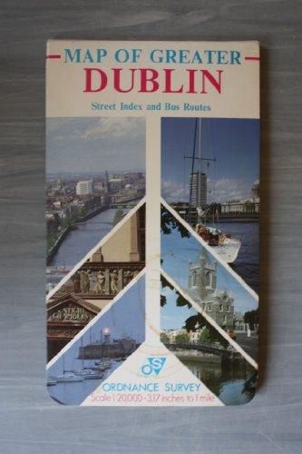 Irish Map: Dublin Street Map: Ordnance Survey